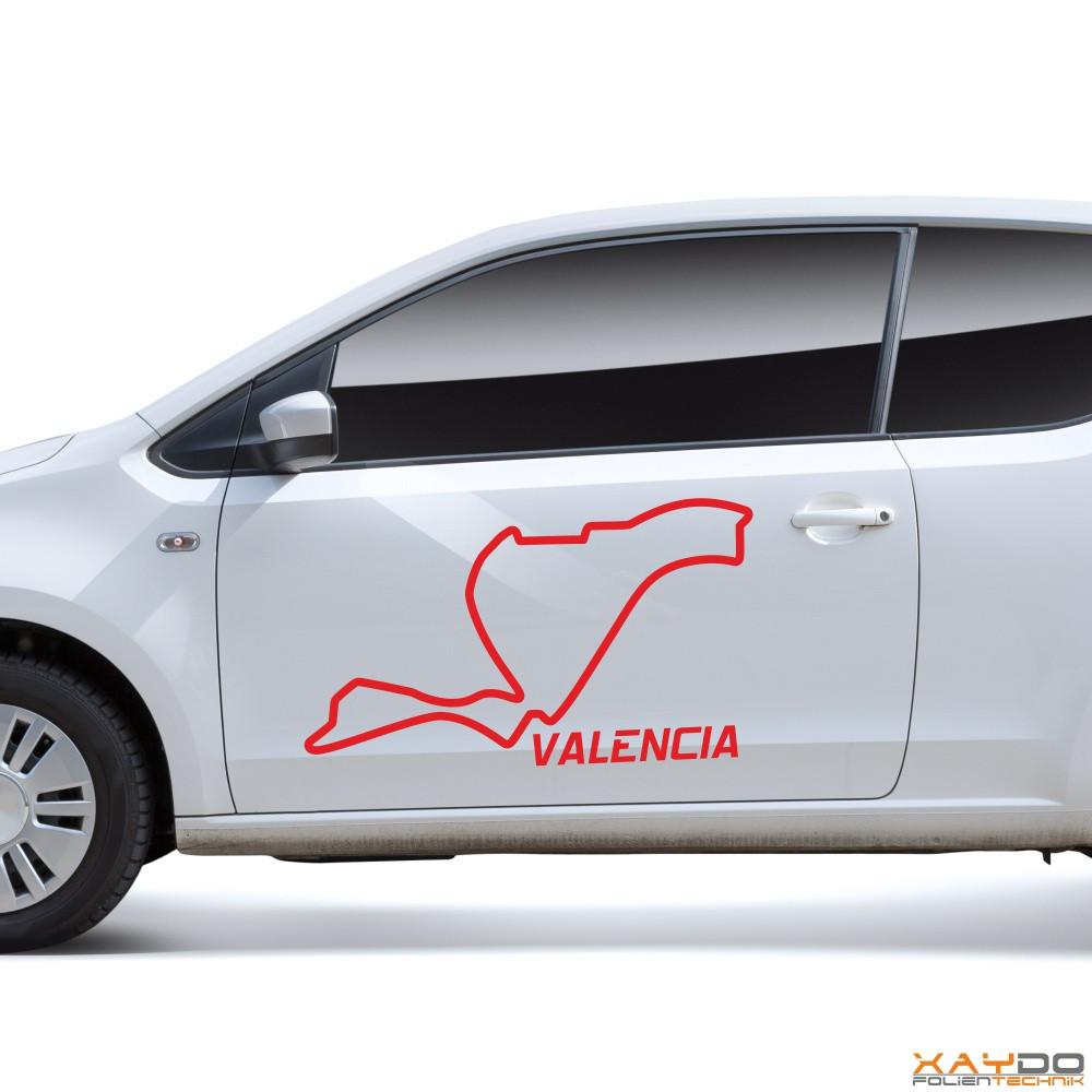 "Autoaufkleber ""Valencia"""