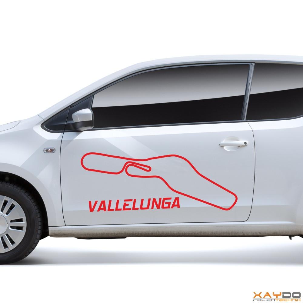 """Autoaufkleber """"Vallelunga"""""""