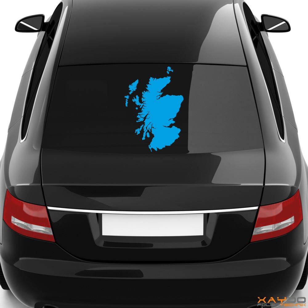 "Heckscheibenaufkleber ""Schottland"""