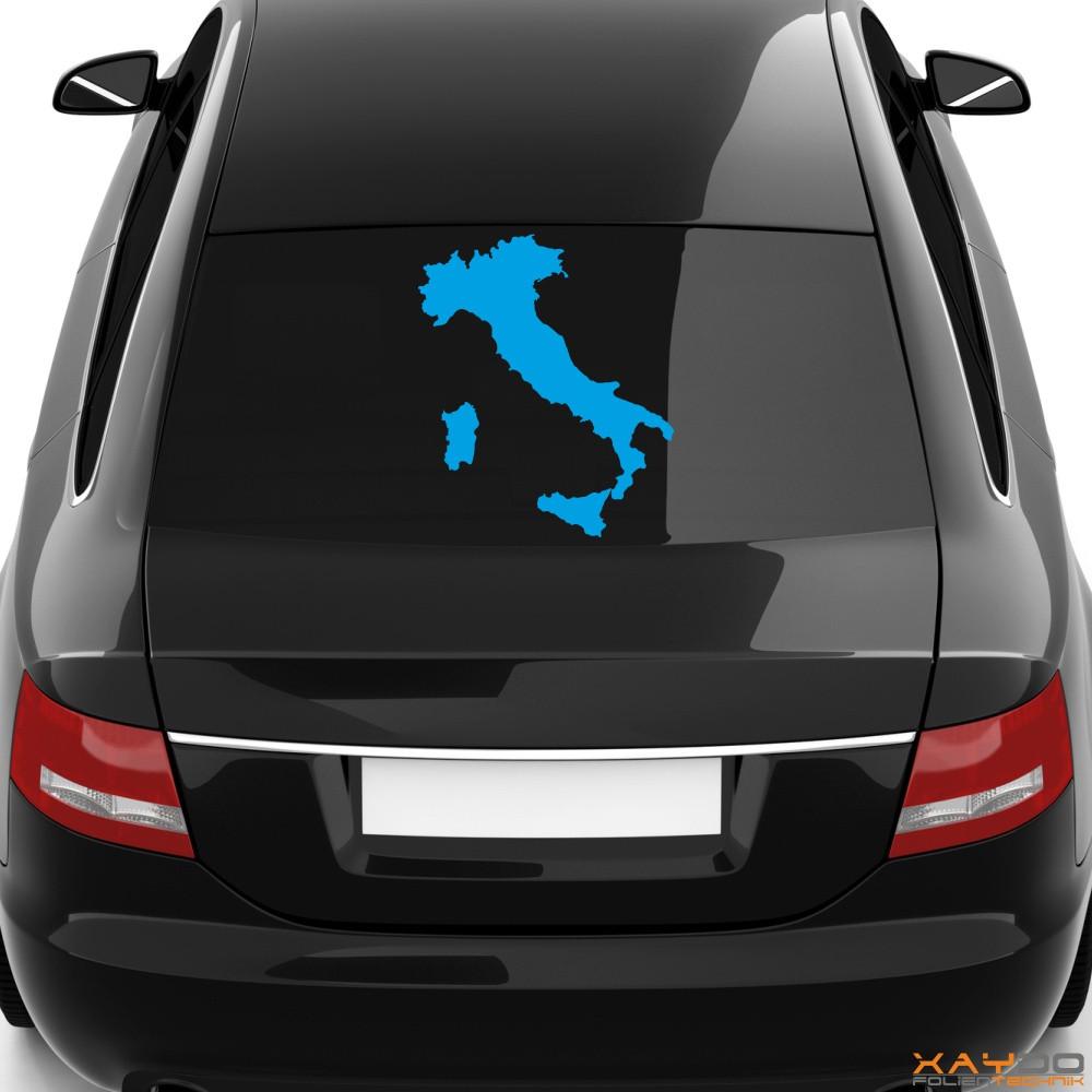 "Heckscheibenaufkleber ""Italien"""