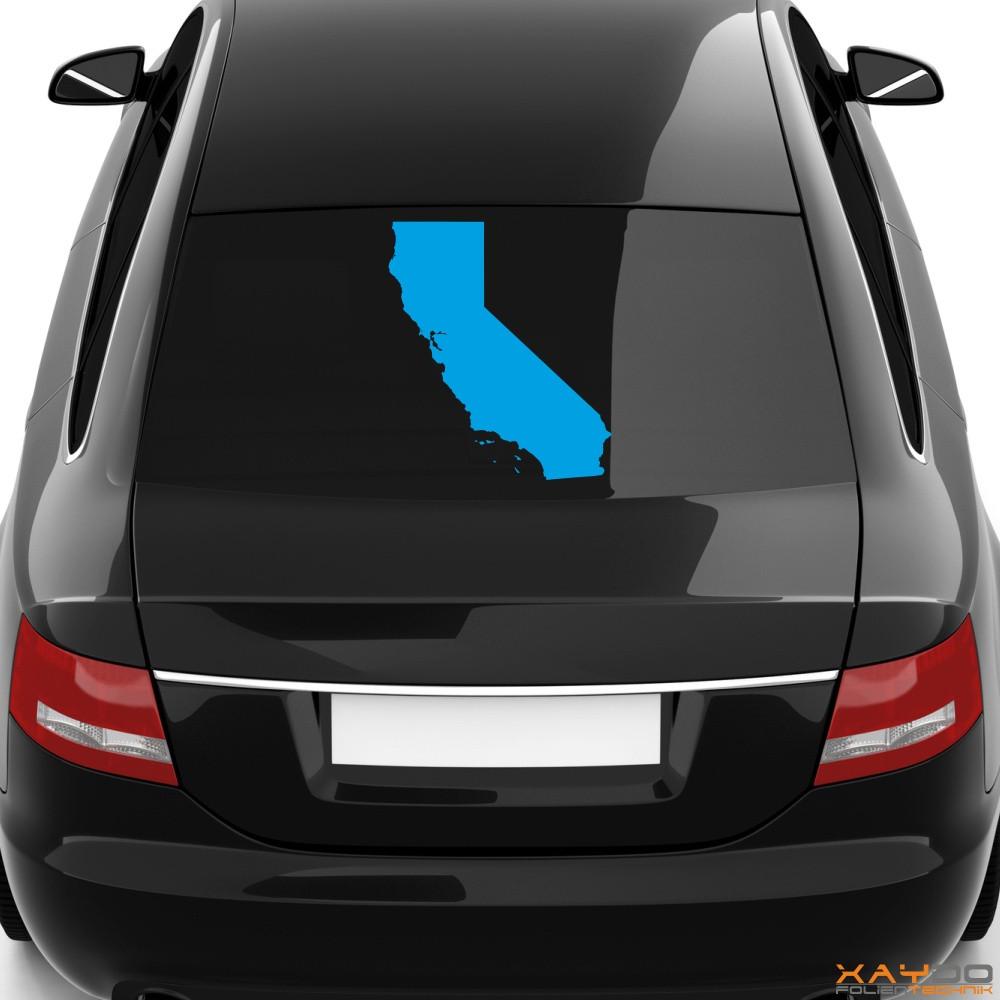 """Heckscheibenaufkleber """"Kalifornien"""""""