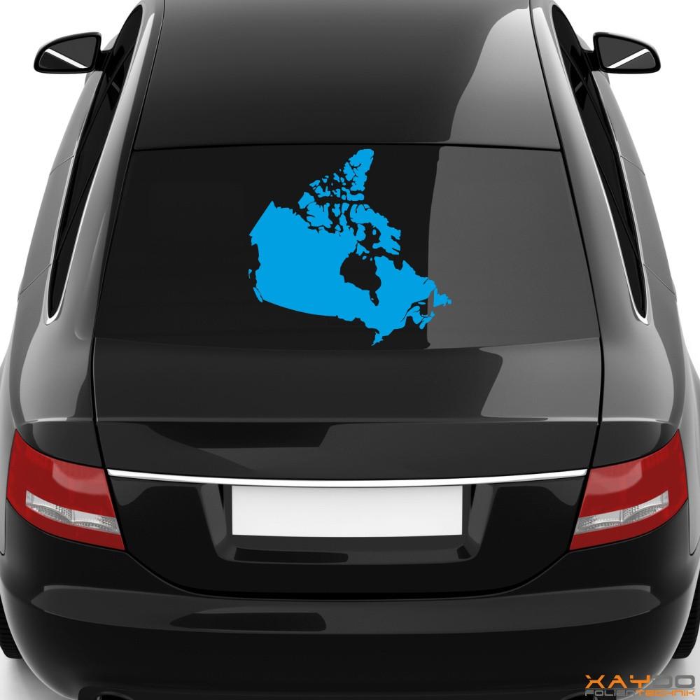 "Heckscheibenaufkleber ""Kanada"""