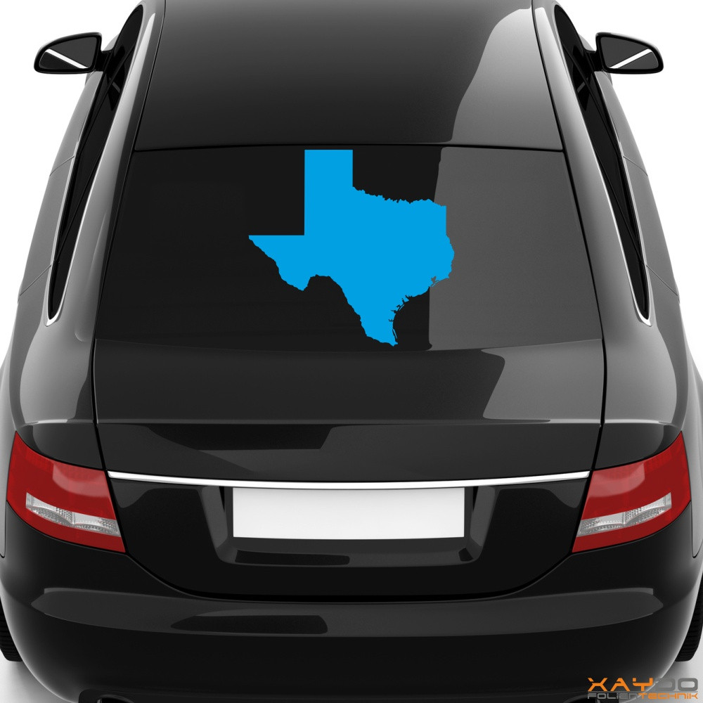 """Heckscheibenaufkleber """"Texas"""""""