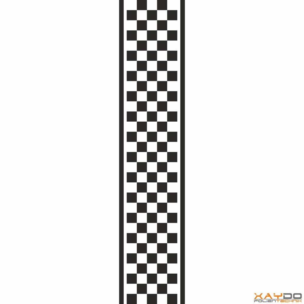 """Rennstreifen """"Flagge B"""" - 5er/21cm"""