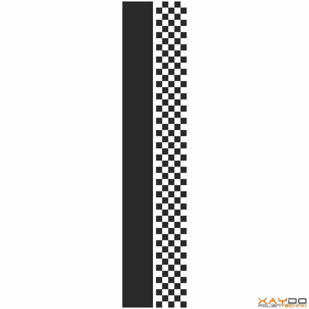 """Rennstreifen """"Flagge C"""" - 5er/21cm"""