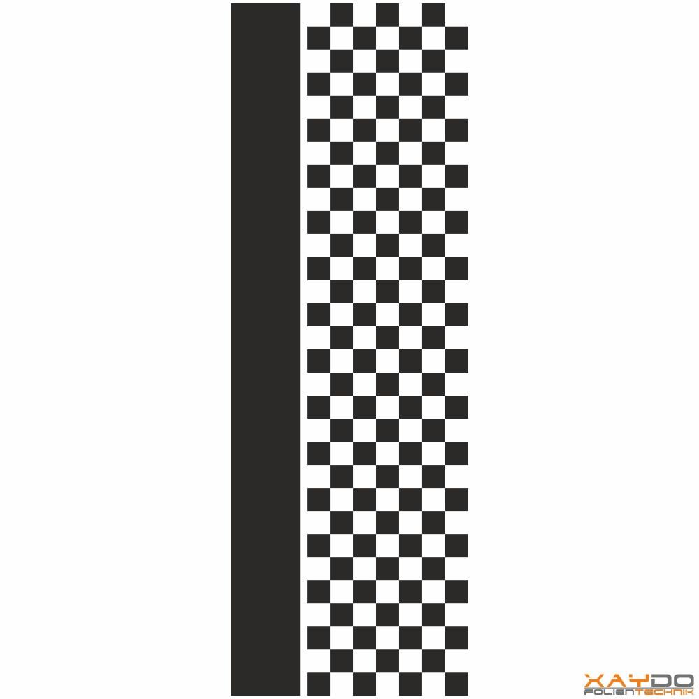 """Rennstreifen """"Flagge C"""" - 7er/34cm"""