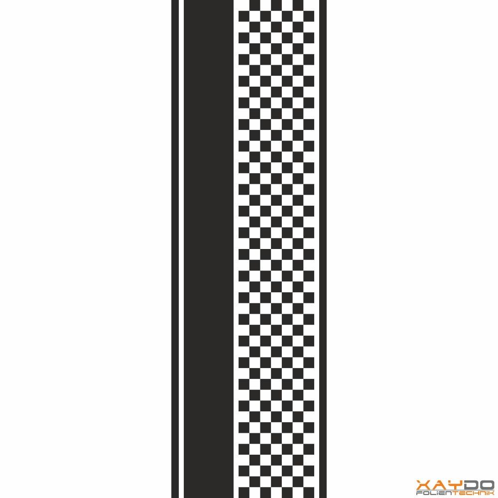 """Rennstreifen """"Flagge D"""" - 7er/31cm"""