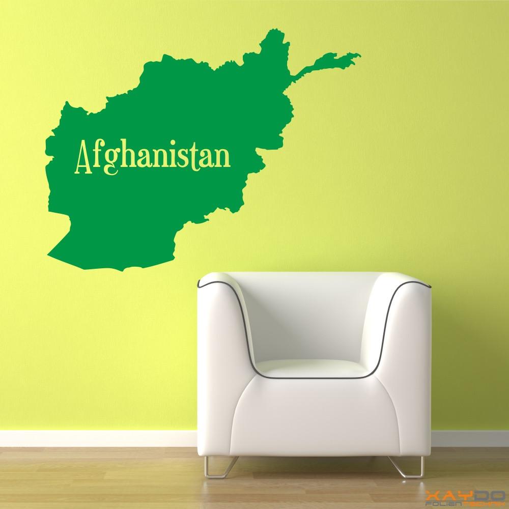 """Wandtattoo """"Afghanistan"""""""