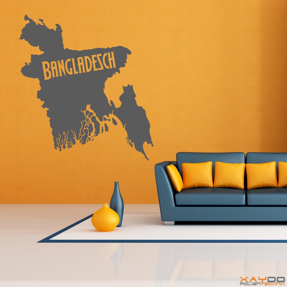"""Wandtattoo """"Bangladesch"""""""