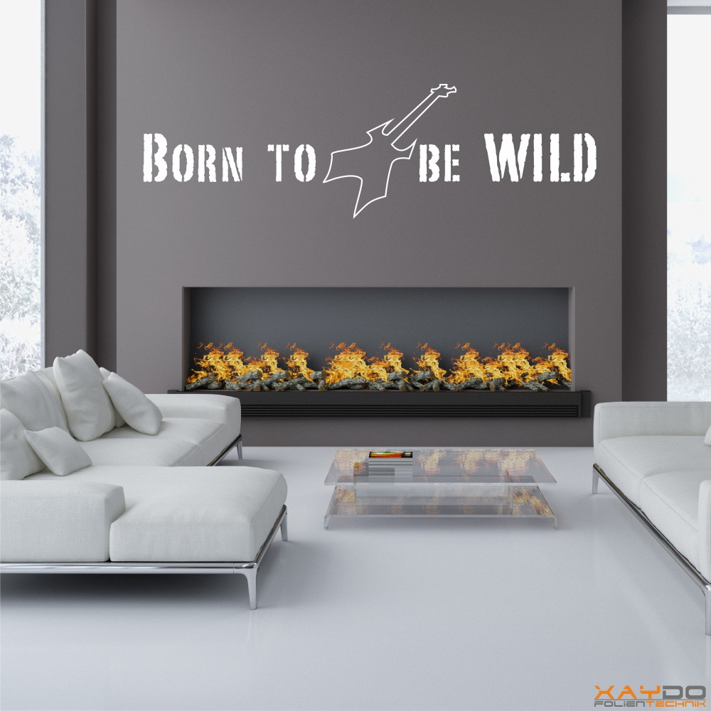"Wandtattoo ""Born to be WILD"""