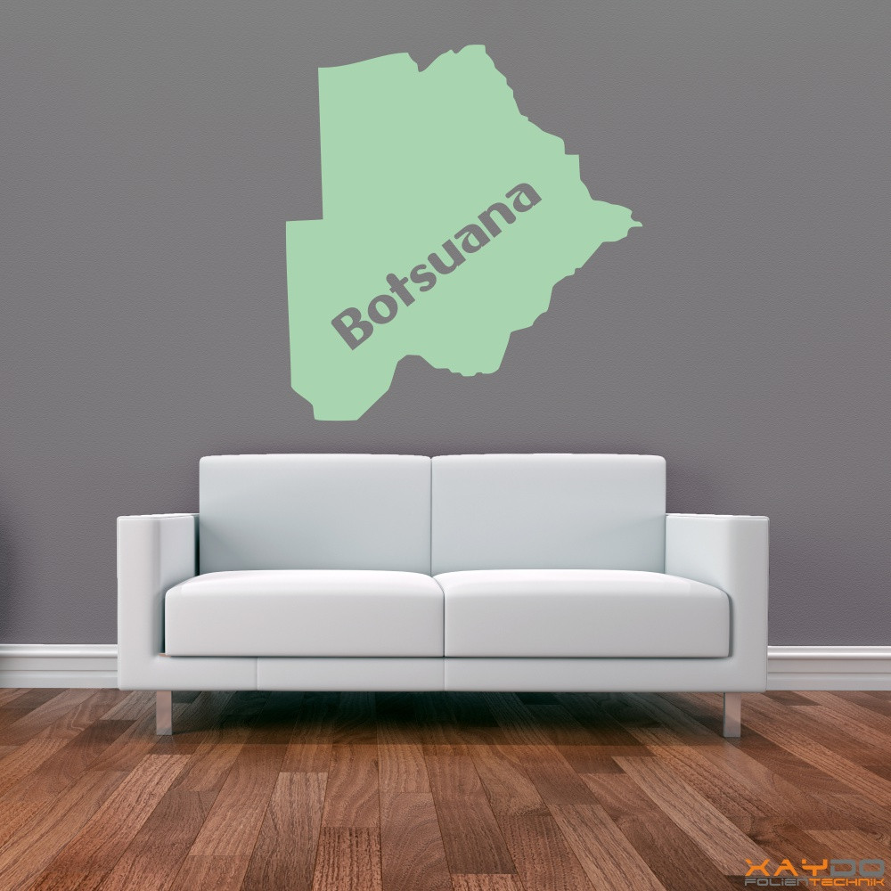 "Wandtattoo ""Botsuana"""