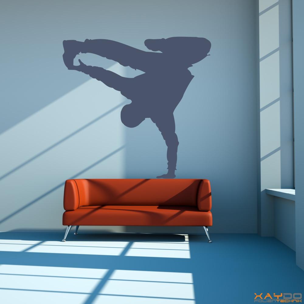 """Wandtattoo """"Breakdancer"""""""