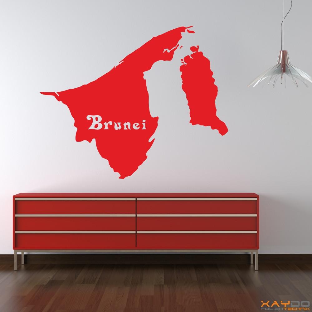"Wandtattoo ""Brunei"""