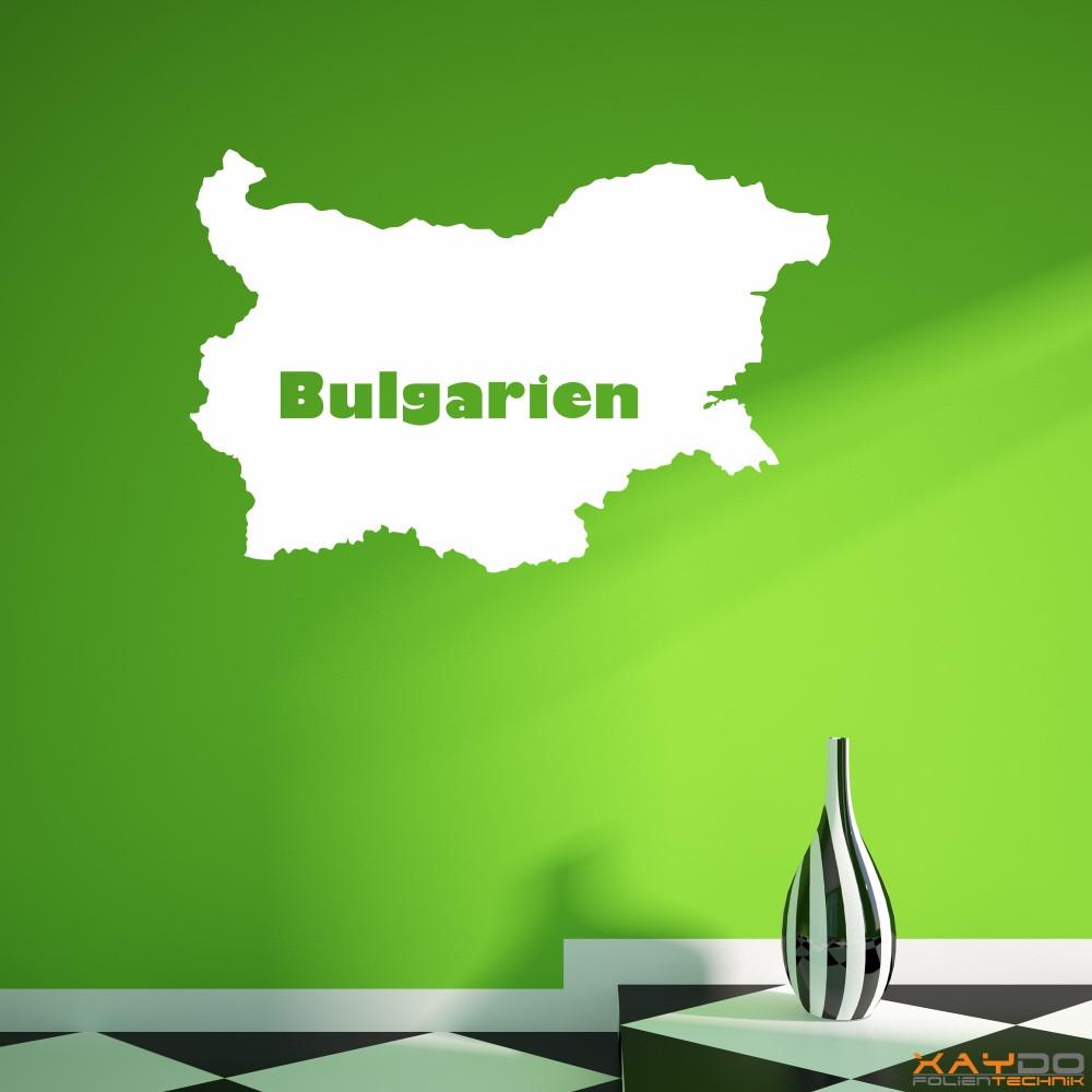 """Wandtattoo """"Bulgarien"""""""