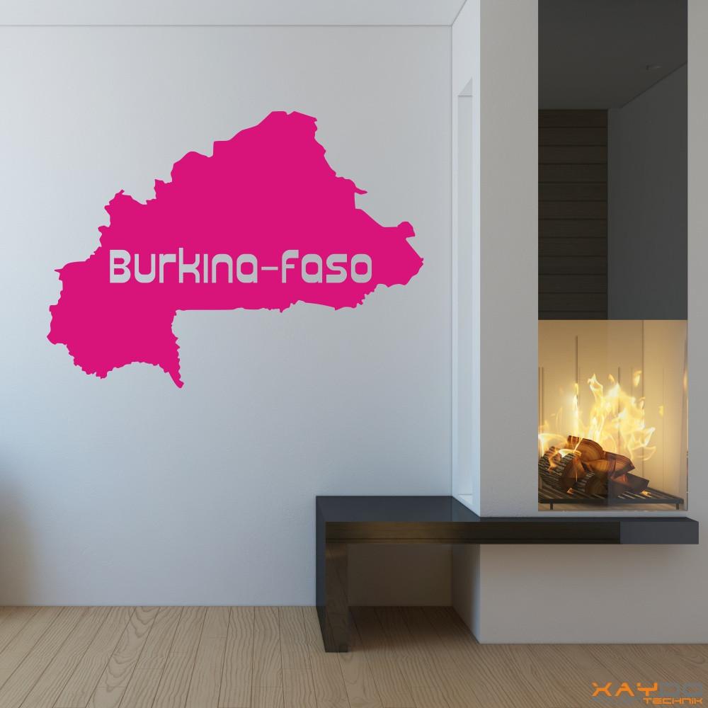 "Wandtattoo ""Burkina-Faso"""