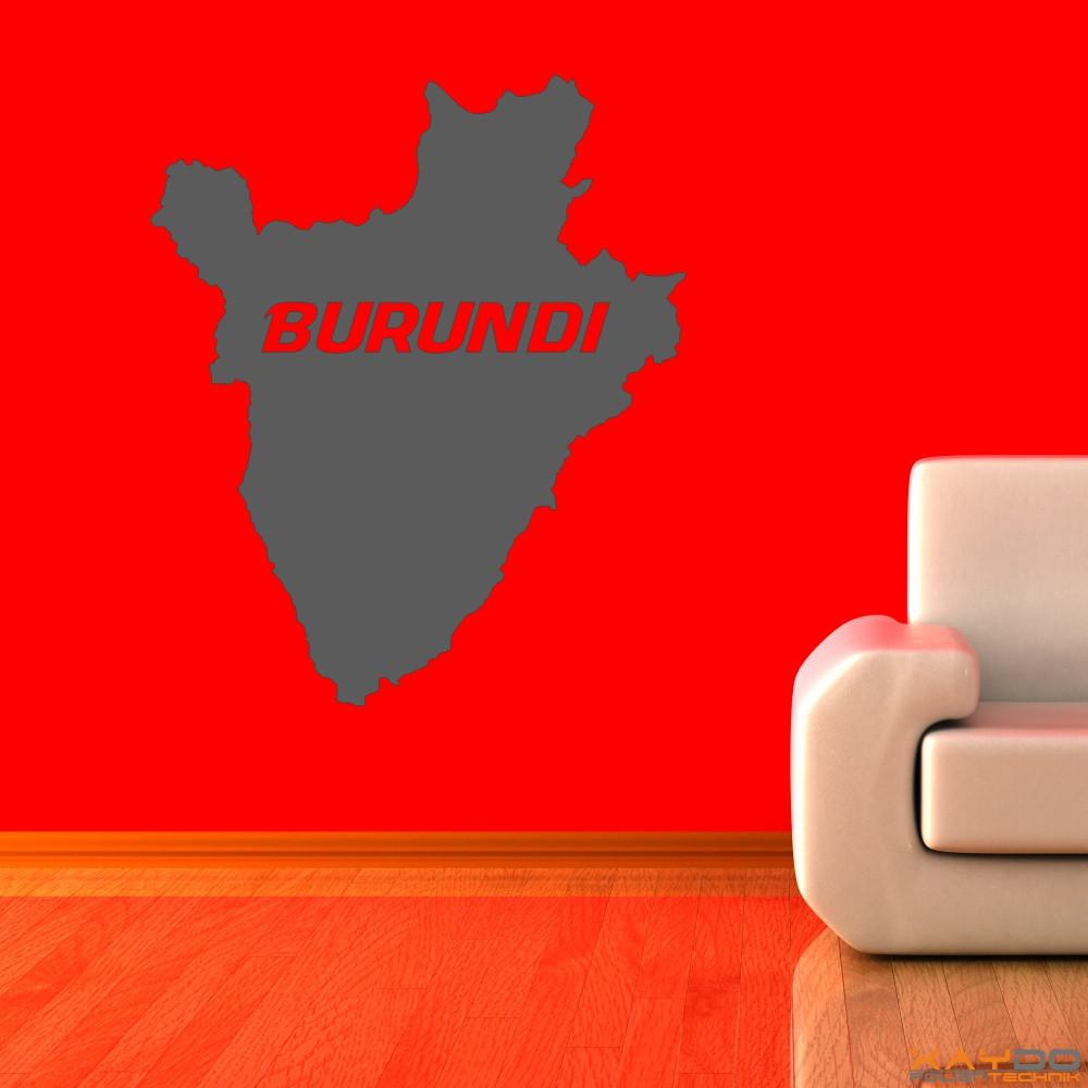 """Wandtattoo """"Burundi"""""""