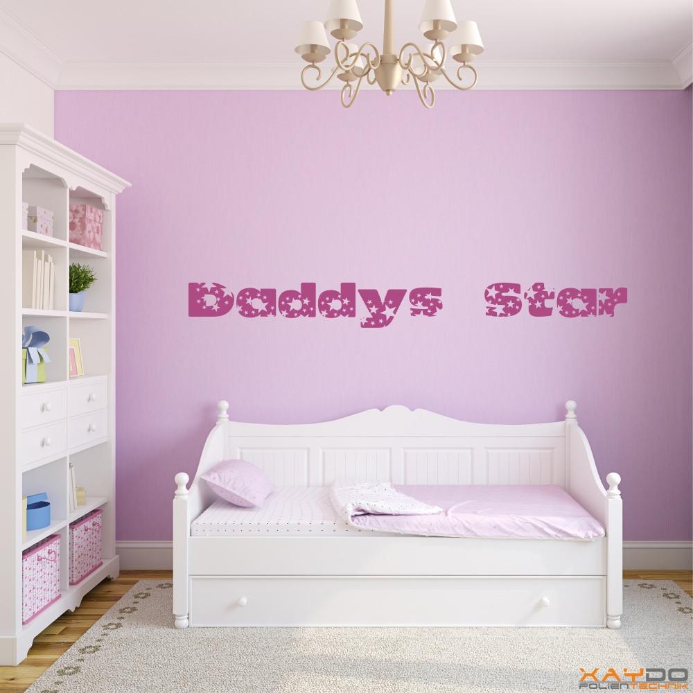 """Wandtattoo """"Daddys Star"""""""