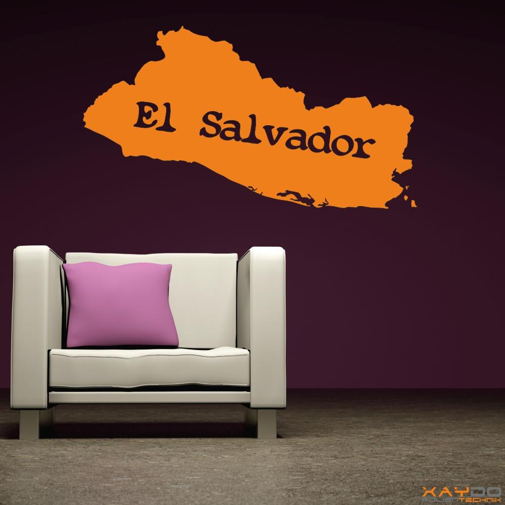 """Wandtattoo """"El Salvador"""""""