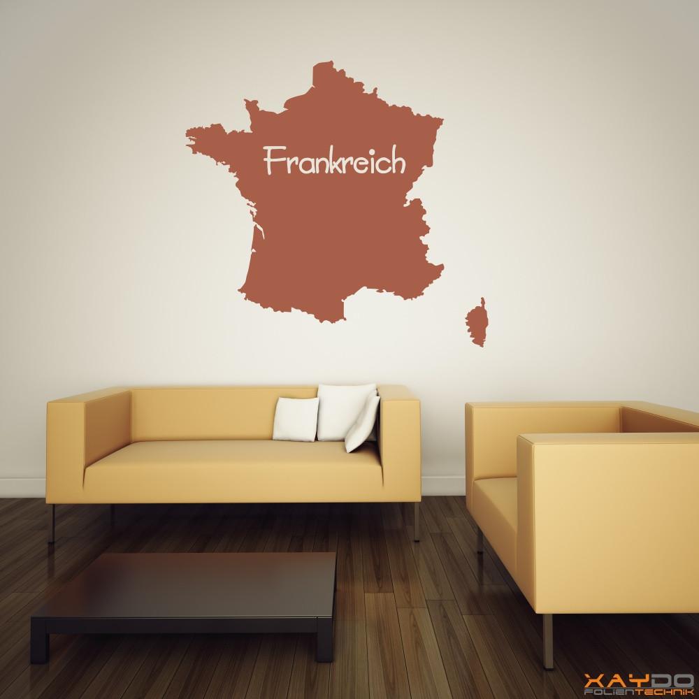 """Wandtattoo """"Frankreich"""""""