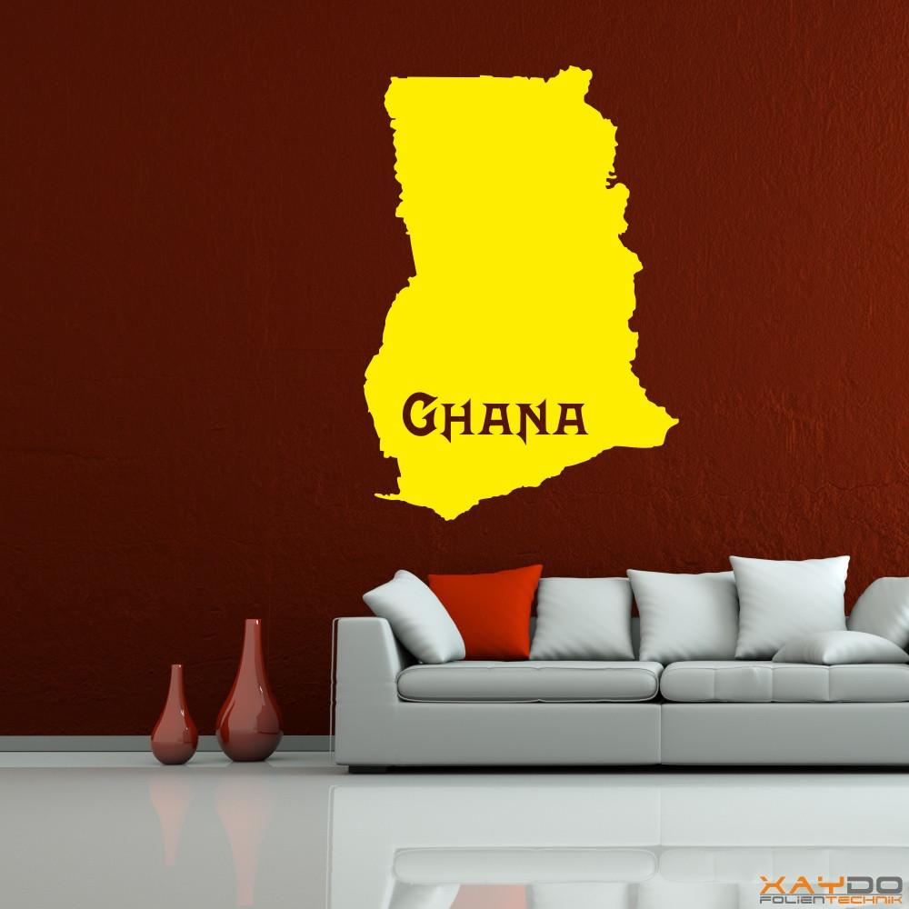 """Wandtattoo """"Ghana"""""""