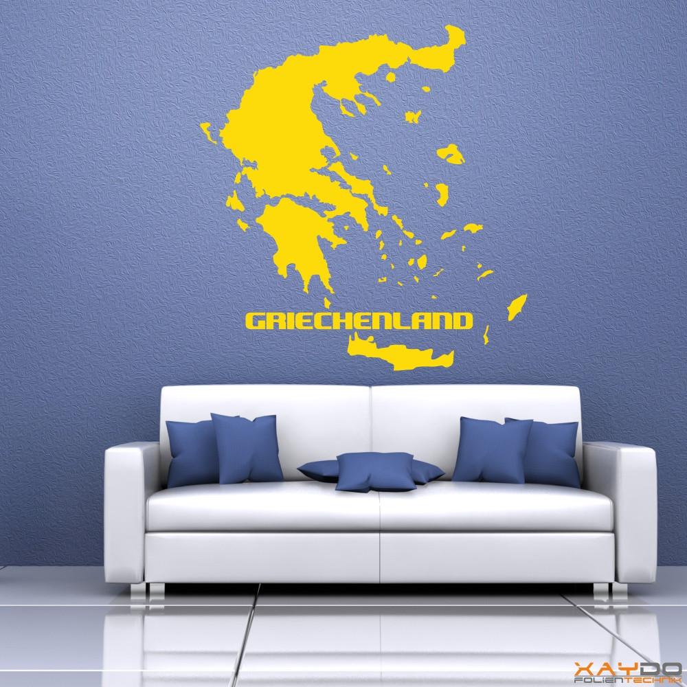 """Wandtattoo """"Griechenland"""""""