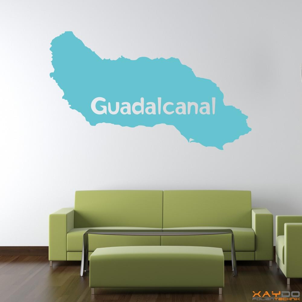 "Wandtattoo ""Guadalcanal"""
