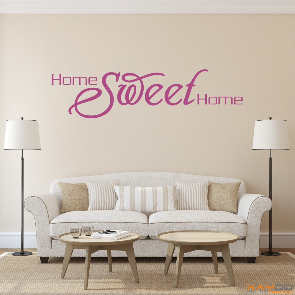 "Wandtattoo ""Home Sweet Home"""