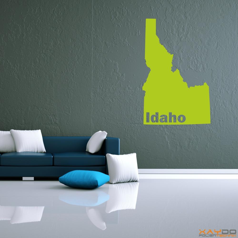 """Wandtattoo """"Idaho"""""""