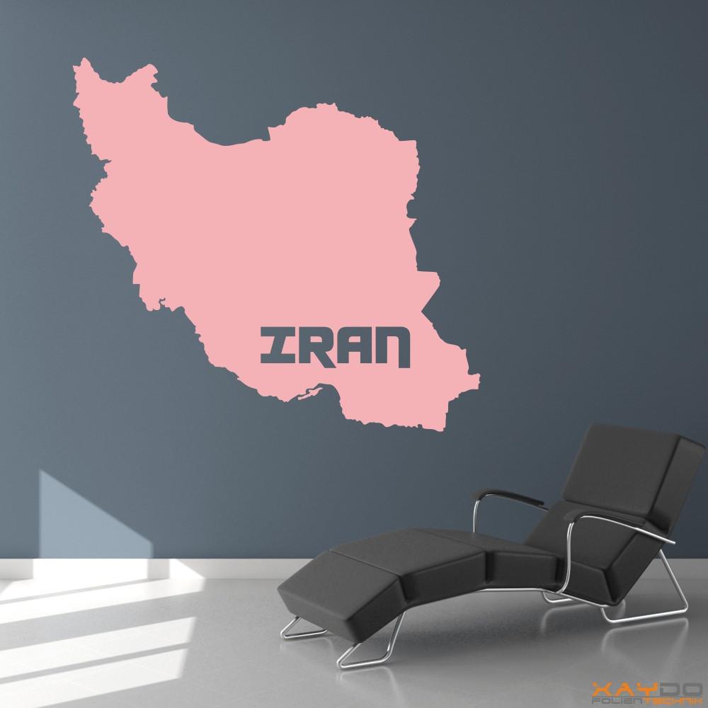 """Wandtattoo """"Iran"""""""