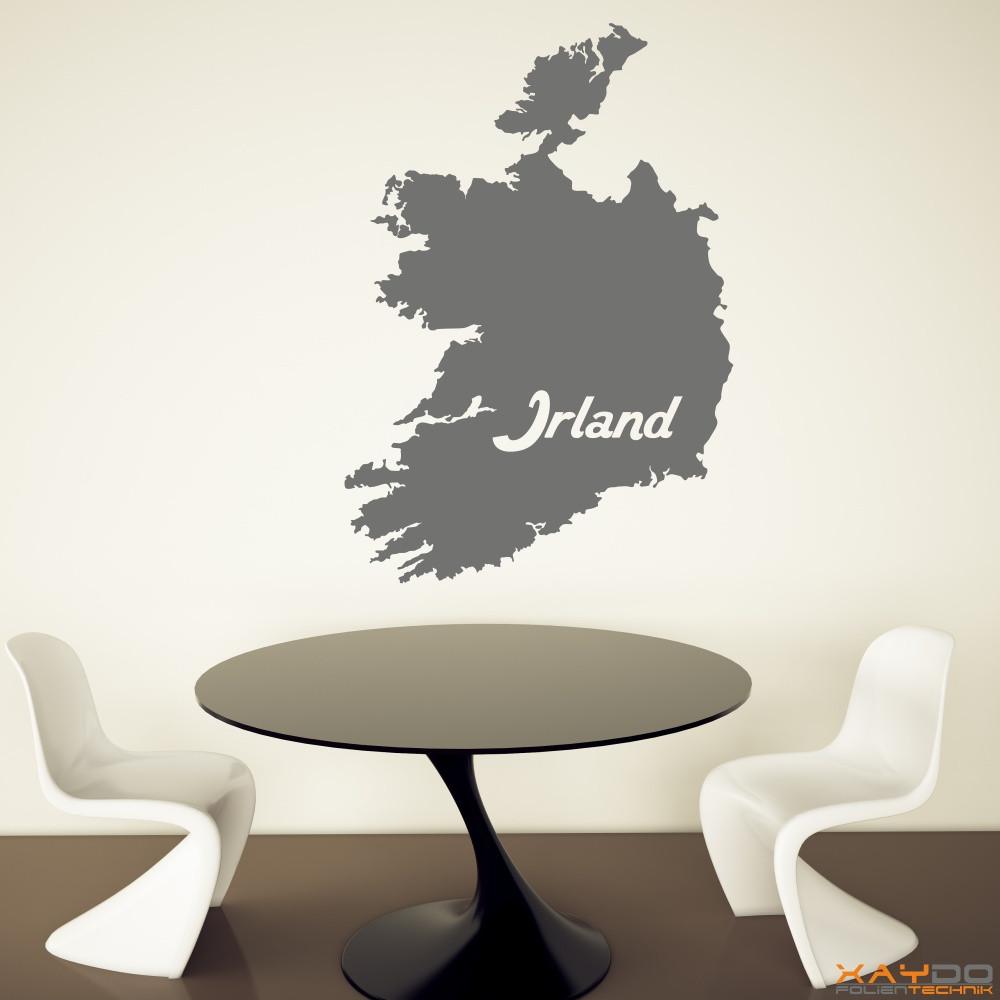 """Wandtattoo """"Irland"""""""