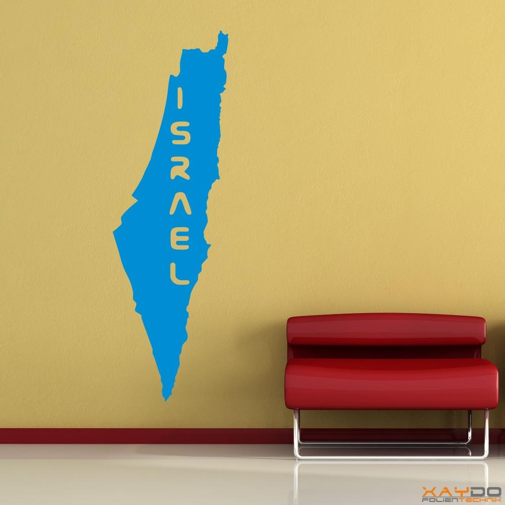 """Wandtattoo """"Israel"""""""