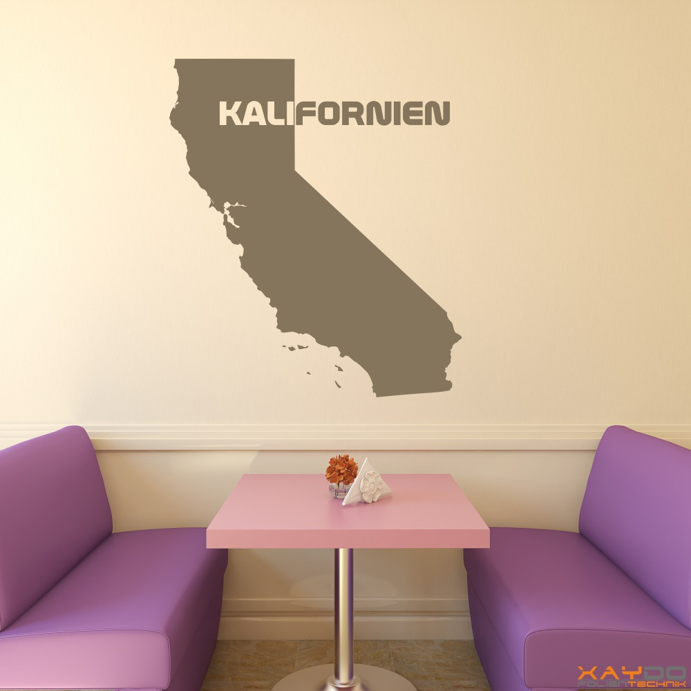 """Wandtattoo """"Kalifornien"""""""