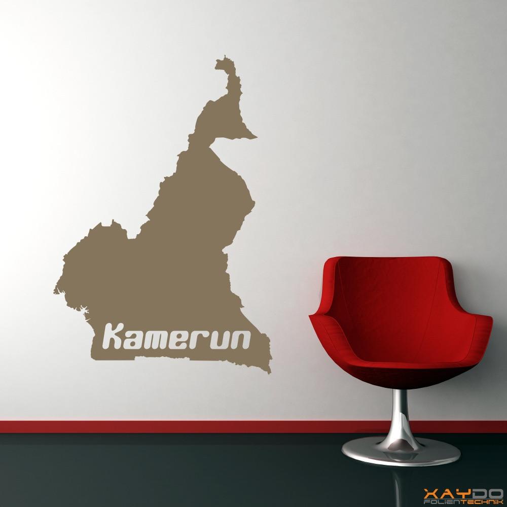 "Wandtattoo ""Kamerun"""