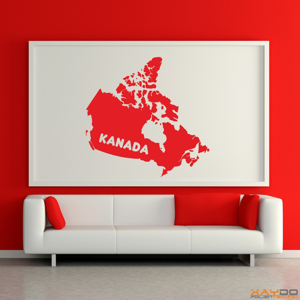 """Wandtattoo """"Kanada"""""""
