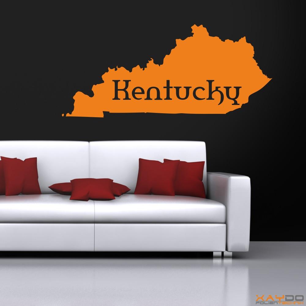 """Wandtattoo """"Kentucky"""""""