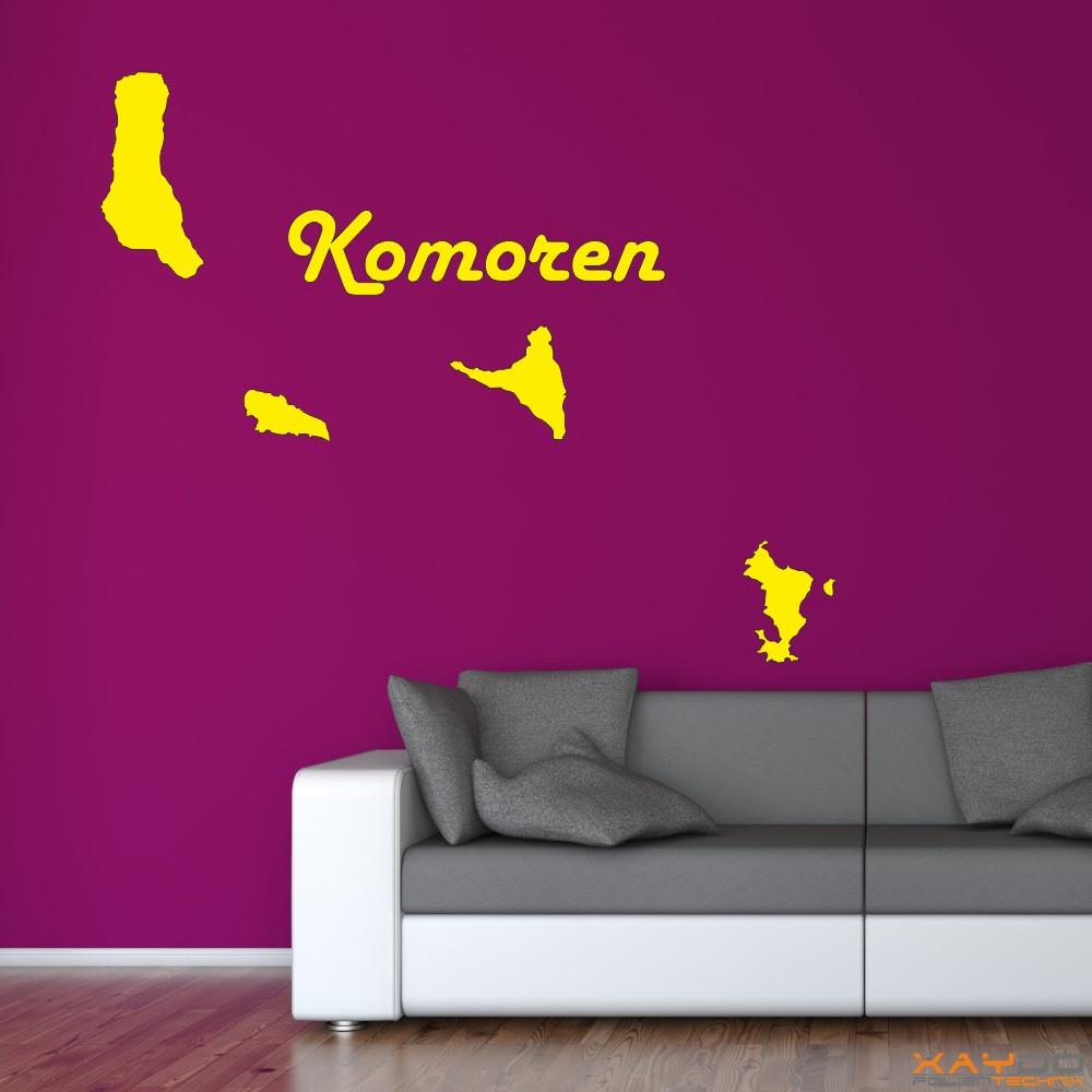 "Wandtattoo ""Komoren"""