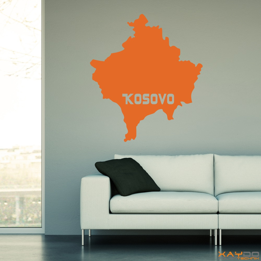 "Wandtattoo ""Kosovo"""