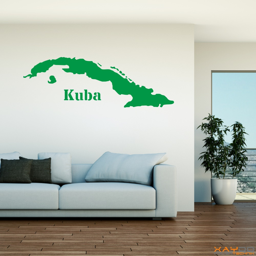 "Wandtattoo ""Kuba"""