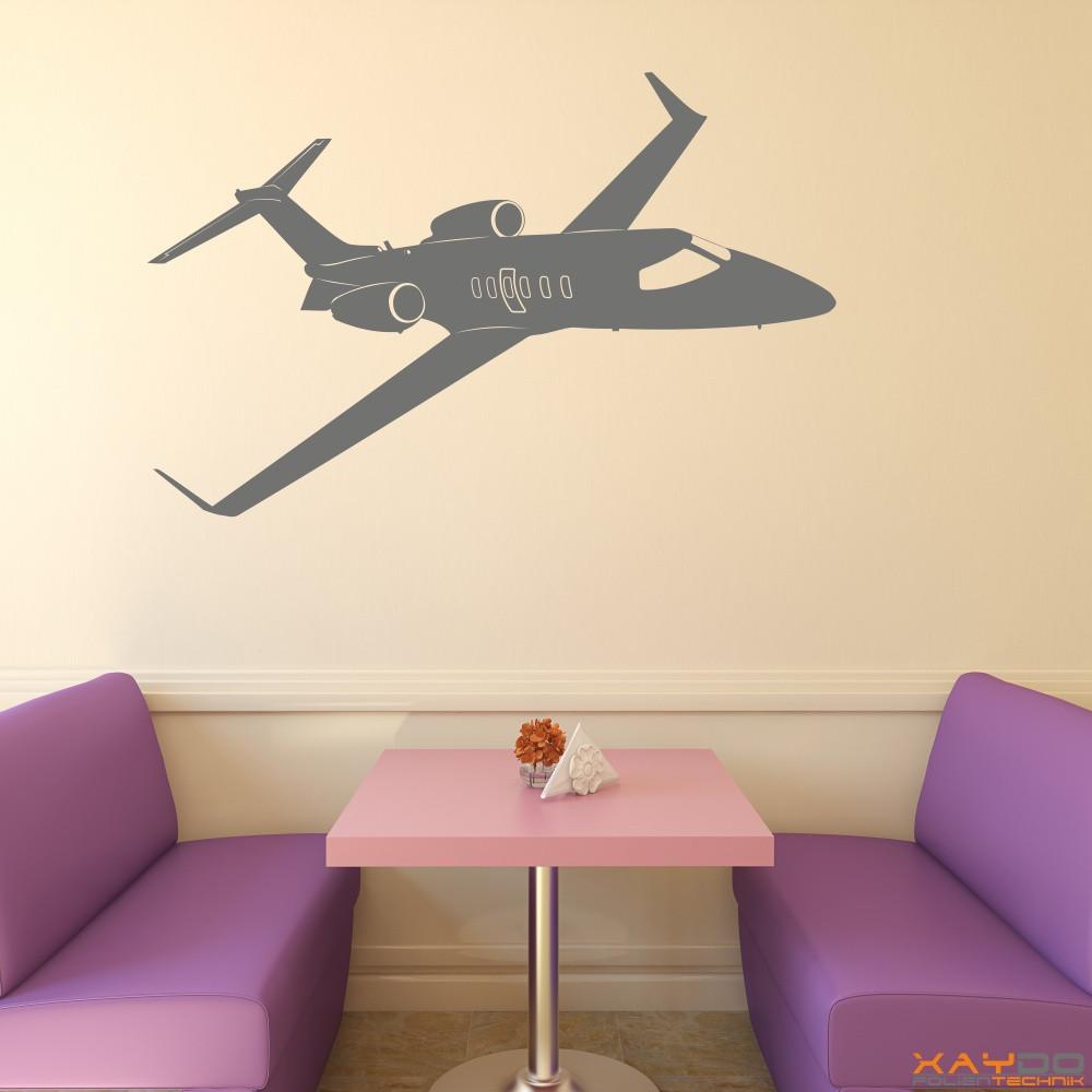 """Wandtattoo """"Learjet 40XR"""""""