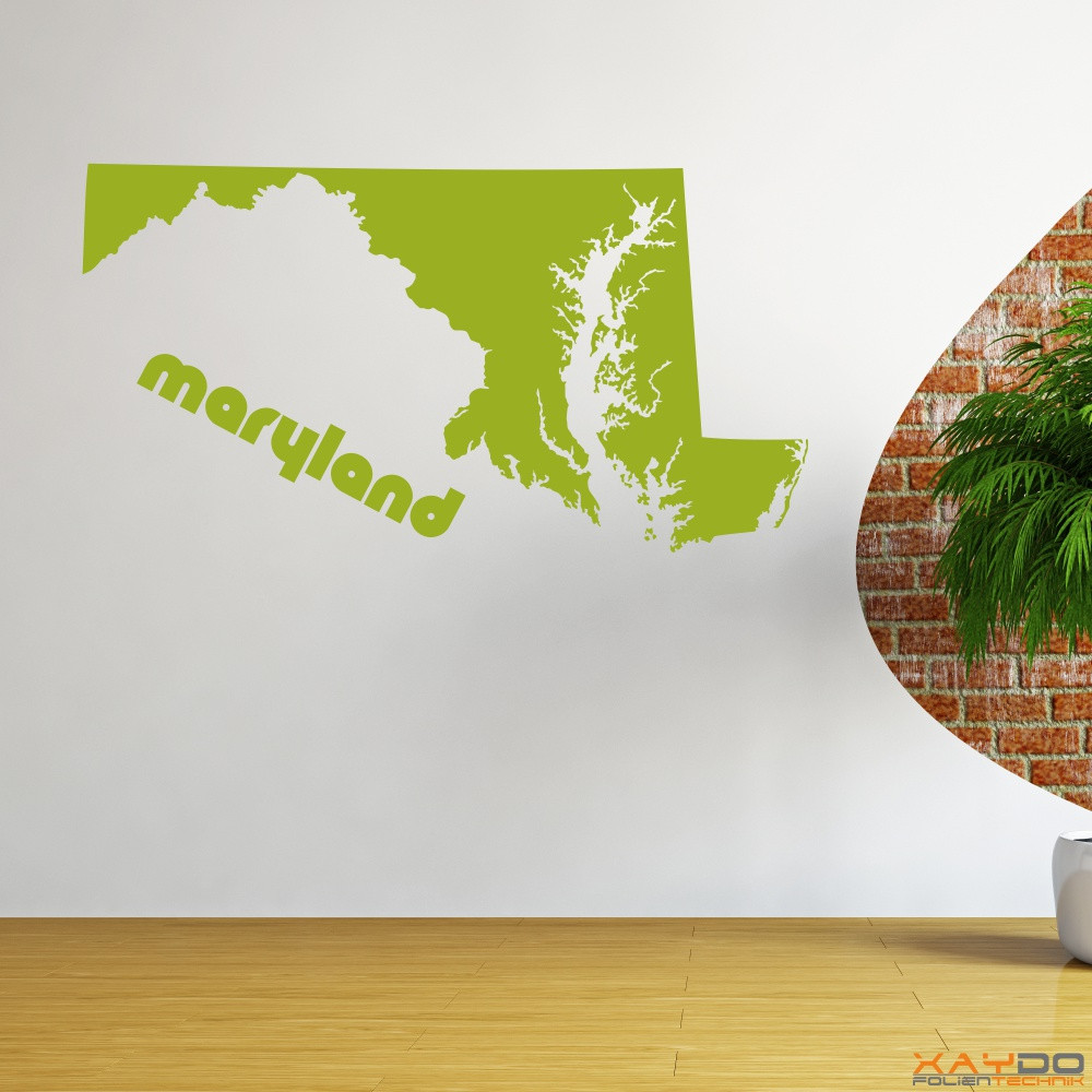 "Wandtattoo ""Maryland"""