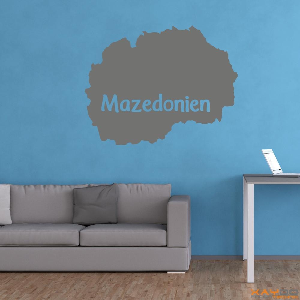 """Wandtattoo """"Mazedonien"""""""