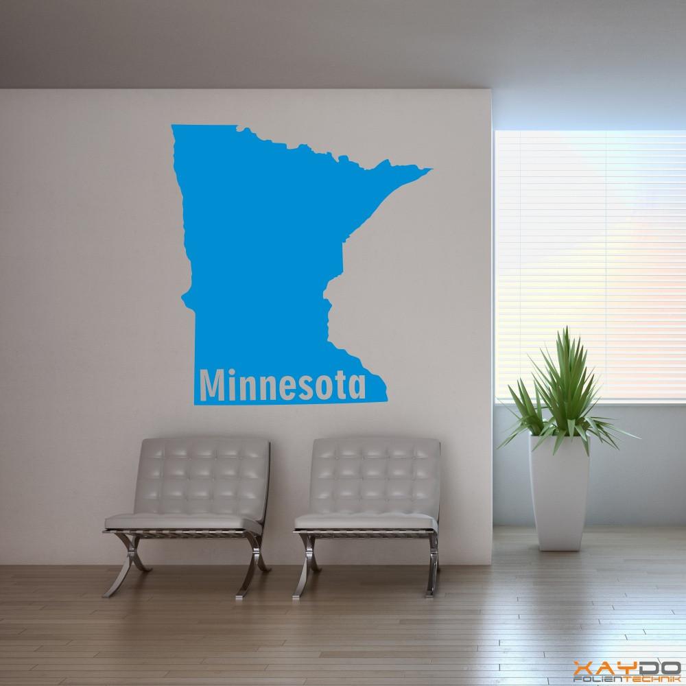 """Wandtattoo """"Minnesota"""""""