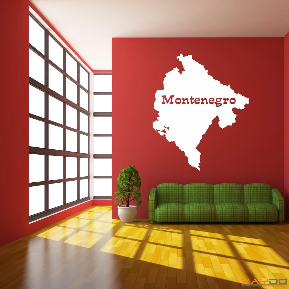 """Wandtattoo """"Montenegro"""""""