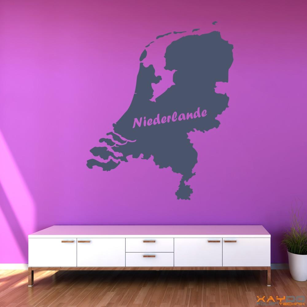 """Wandtattoo """"Niederlande"""""""