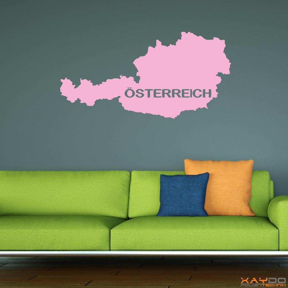 """Wandtattoo """"Österreich"""""""