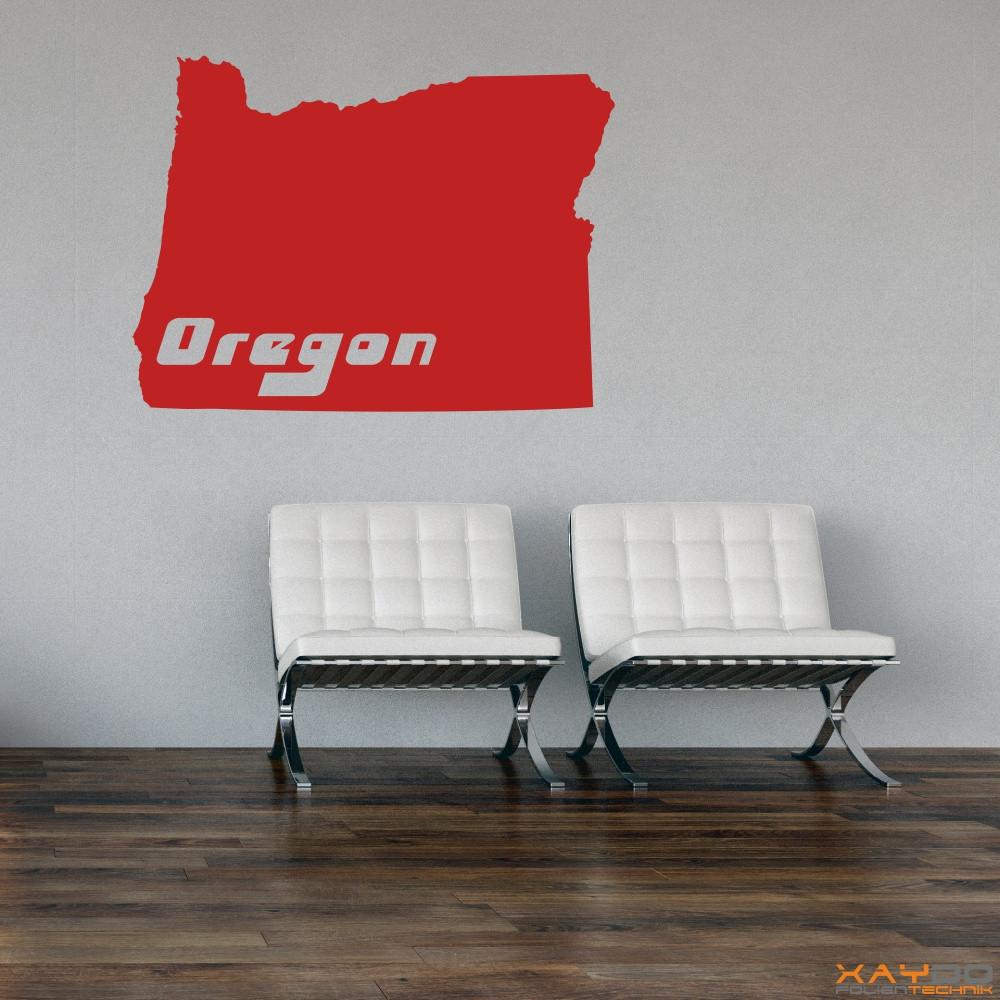 "Wandtattoo ""Oregon"""