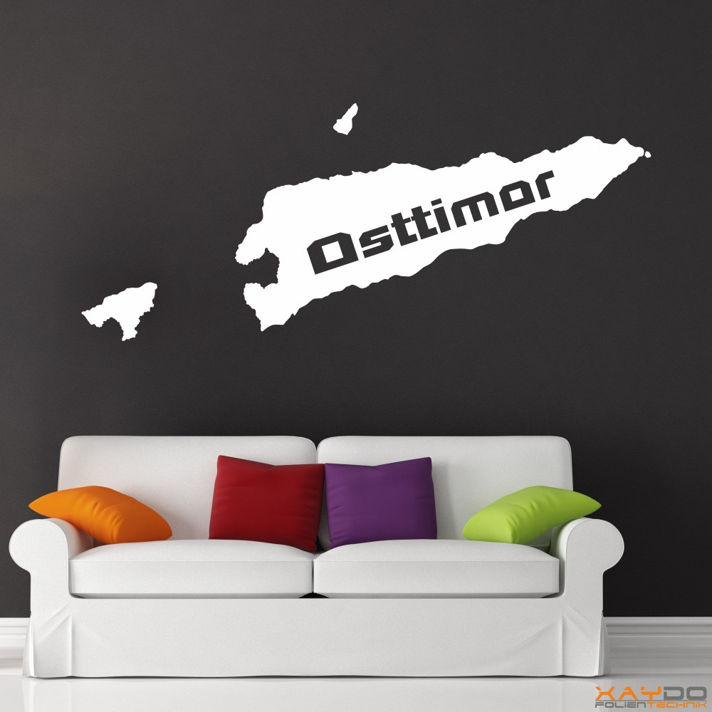 "Wandtattoo ""Osttimor"""