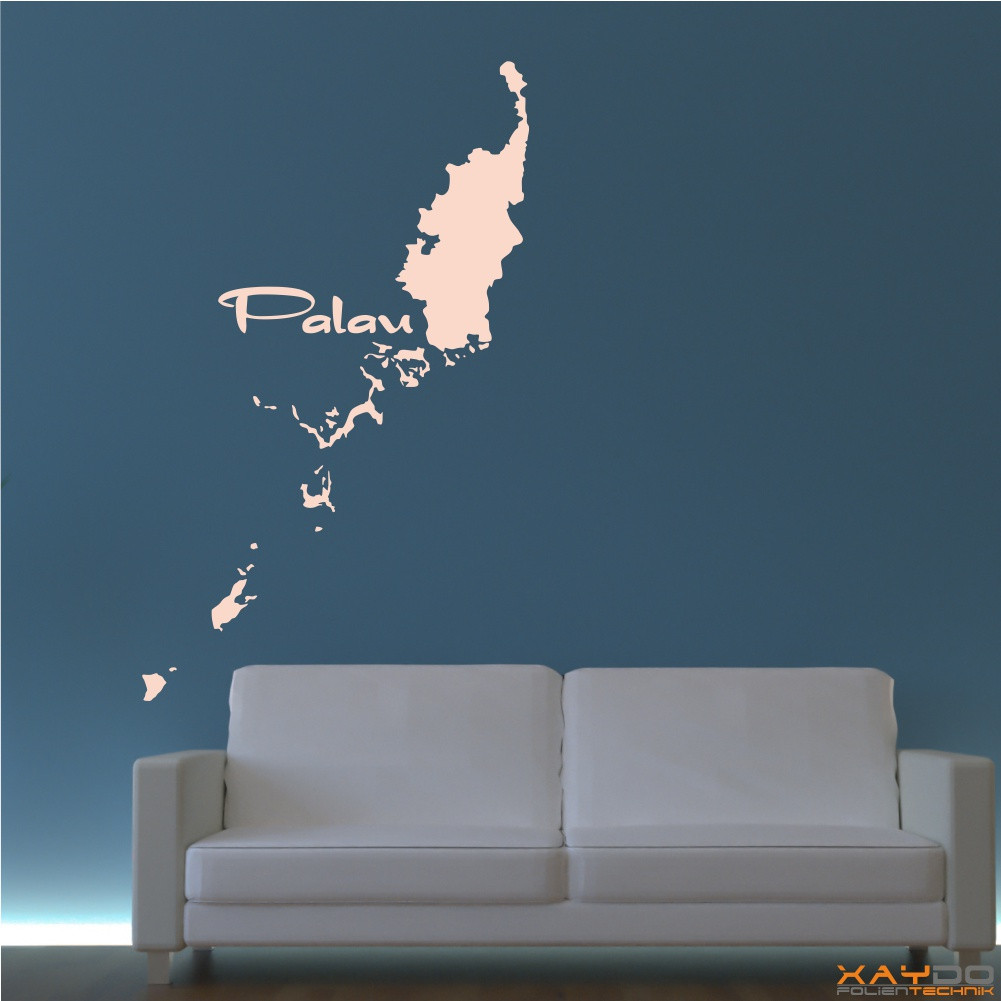 "Wandtattoo ""Palau"""