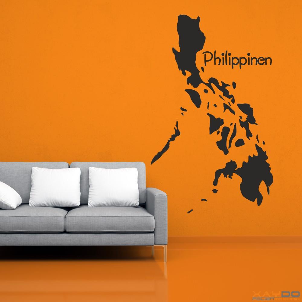 """Wandtattoo """"Philippinen"""""""