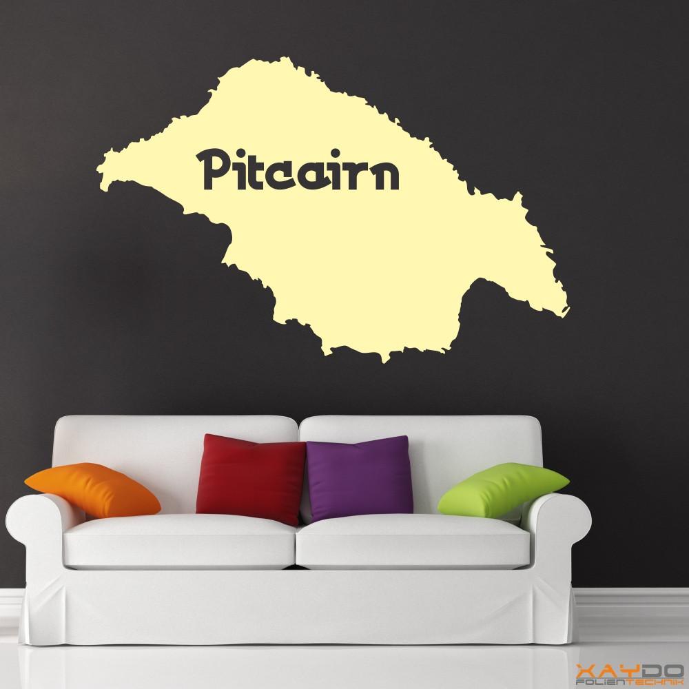 """Wandtattoo """"Pitcairn"""""""